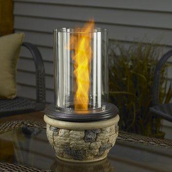 Ledgestone Tabletop Gel Fuel Fireplace