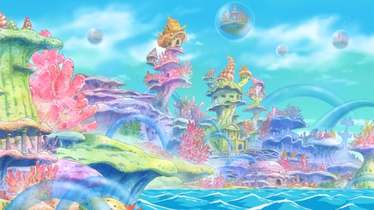 Ryugu Kingdom One Piece Wiki Fandom Powered By Wikia One Piece Pictures One Piece Fantasy Landscape