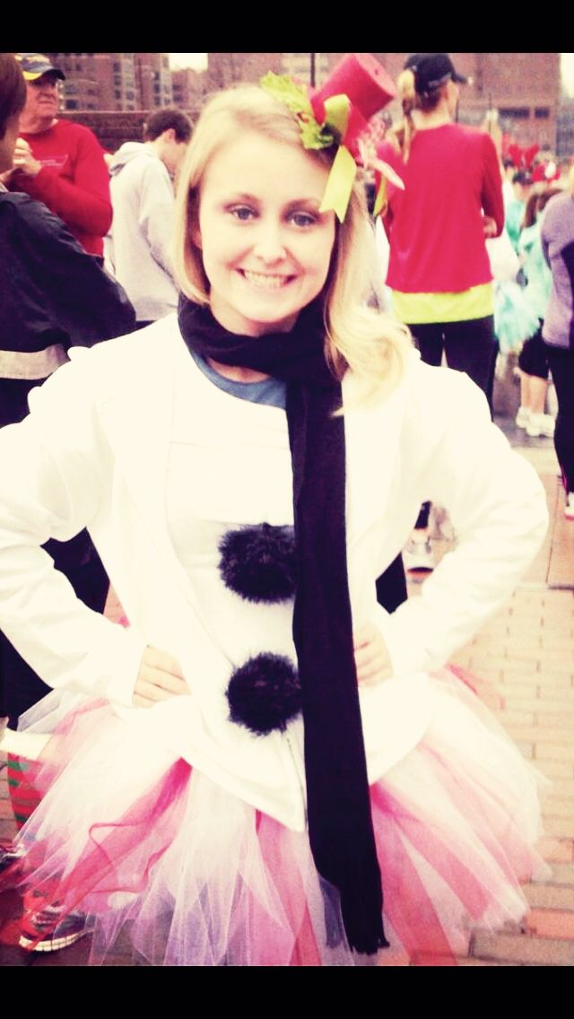 Me dressing up and walk to find a cure! #Arthritis #JingleBellRun #RhuemGirl