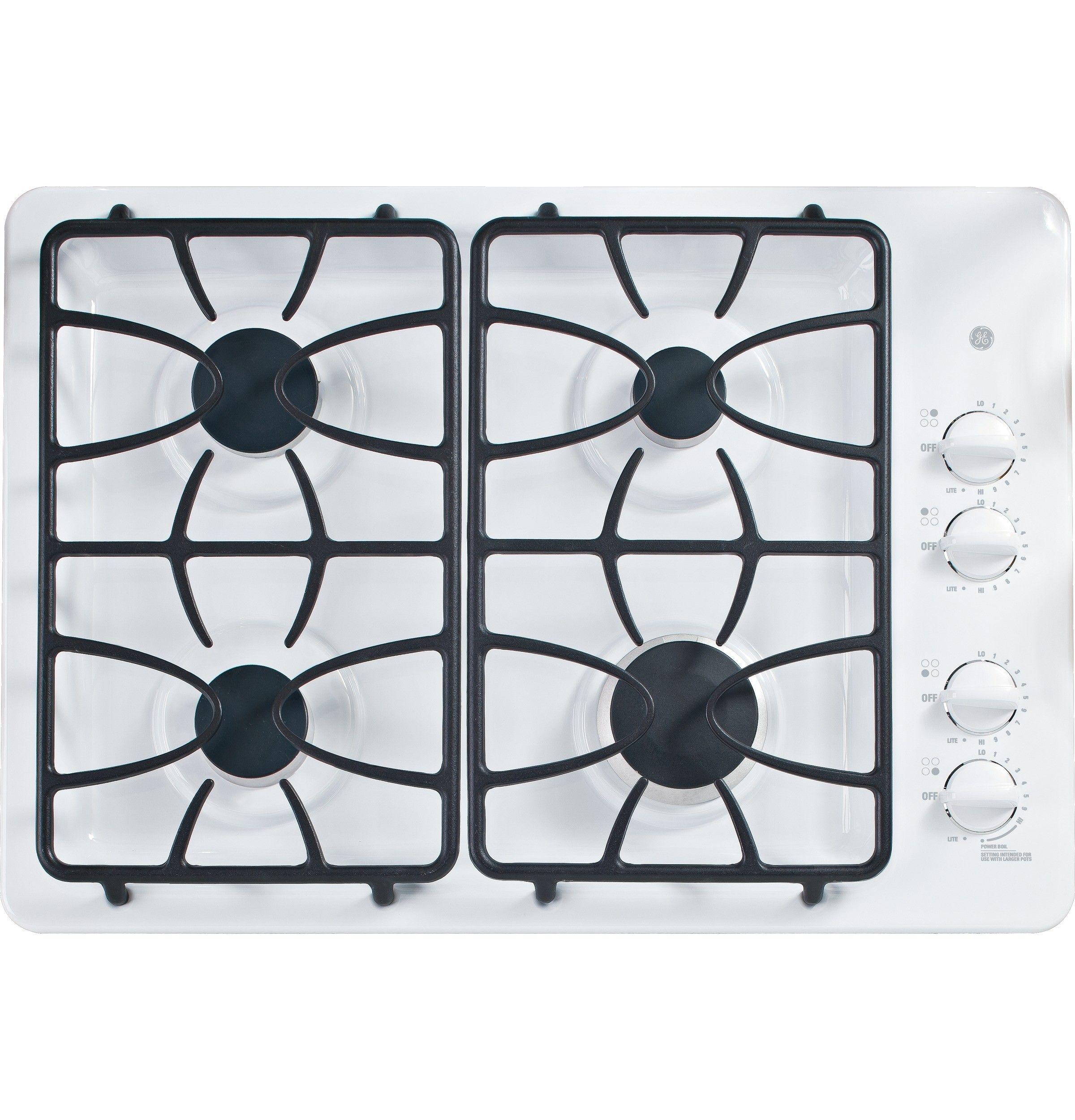 Appliances GEJGP333DETWW Cooking Gas cooktop, Cooktop