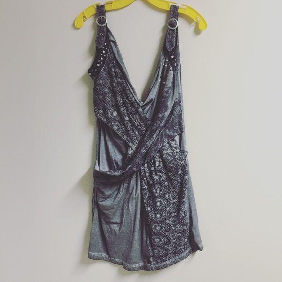 Super cute grey dress Super cute grey dress size small Anthropologie Dresses Mini