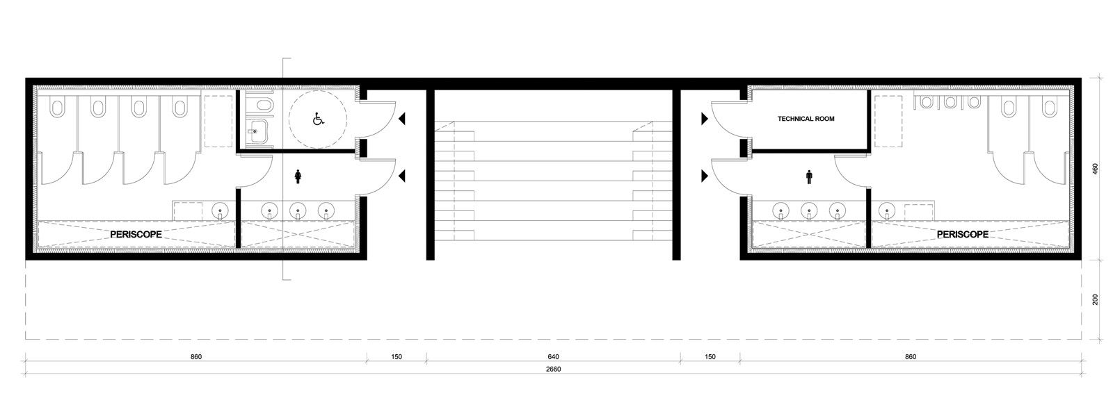 public toilet design plan. Gallery of This Public Toilet has a Periscope That Offers Serene Sea View  14