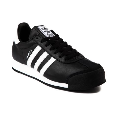 sale retailer debd0 6aaae adidas Samoa Athletic Shoe in Black White at Journeys Shoes.