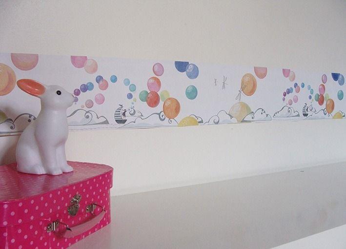 frise adh sive de papier peint enfant d coration pour enfants par l atelier des moineaux. Black Bedroom Furniture Sets. Home Design Ideas