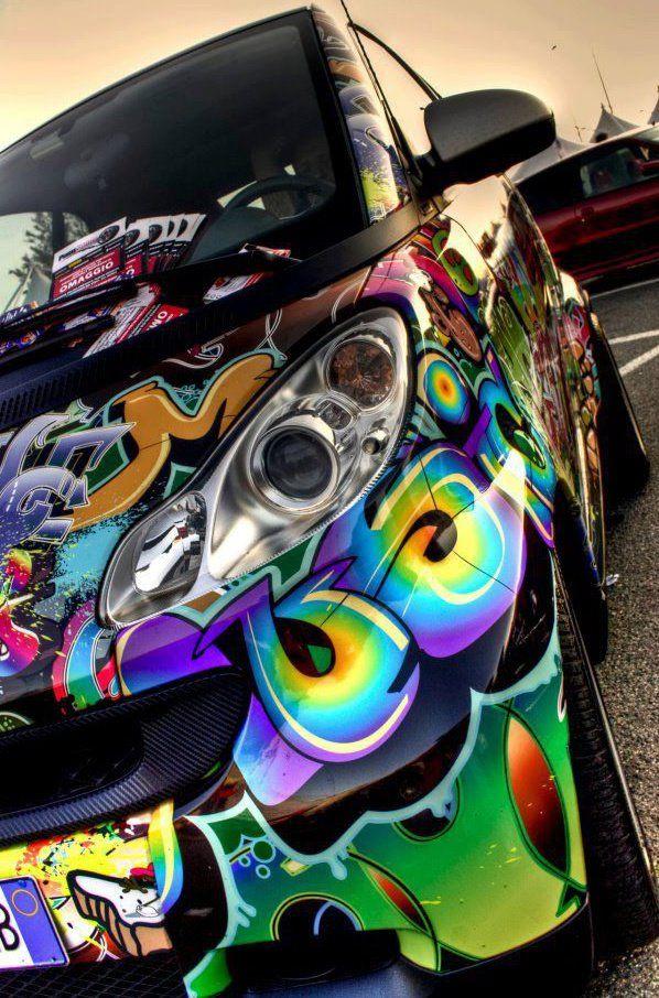 Smart Car Wrap Smart car, Car, Car wrap
