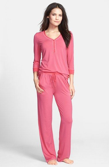 44f134a463 Free shipping and returns on DKNY Pajama Top   Bottoms at Nordstrom.com.
