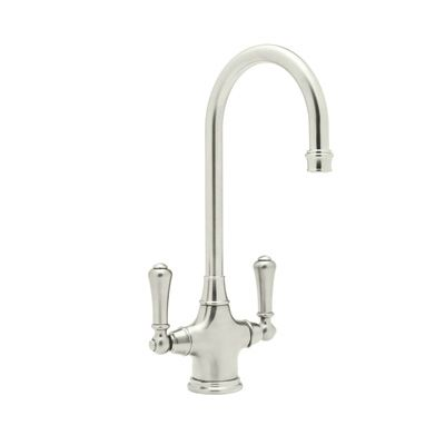 ROHL KITCHEN – Single Hole Bar Faucet U.4711 Polished Nickel - Bar ...