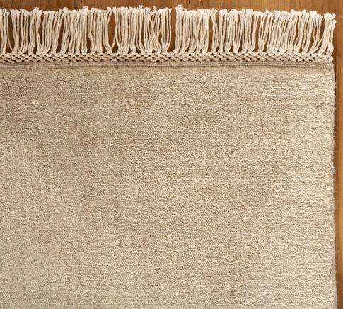 Fringed Hand Loomed Rug Loom