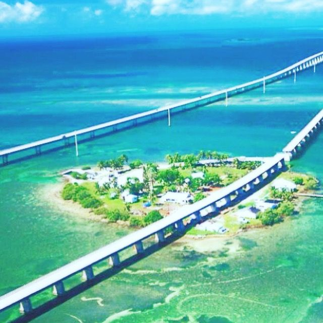 The road trip from Miami to the Keys, literally the road to Paradise