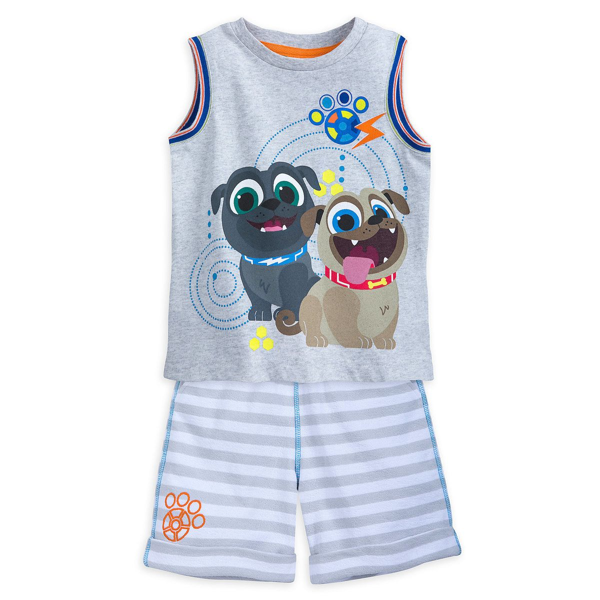 New w// Tags Disney Puppy Dog Pals 2 piece shorts set