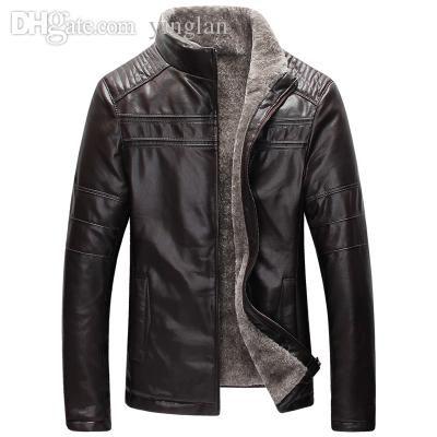 2021 Fall New Winter Warm Mens Genuine Leather Jacket Men Retro Brown Sheepskin Fur Coat Man Wool Liner Shearling Jackets And Coats From Yinglan 111 42 Dhga Leather Jacket Men Fur