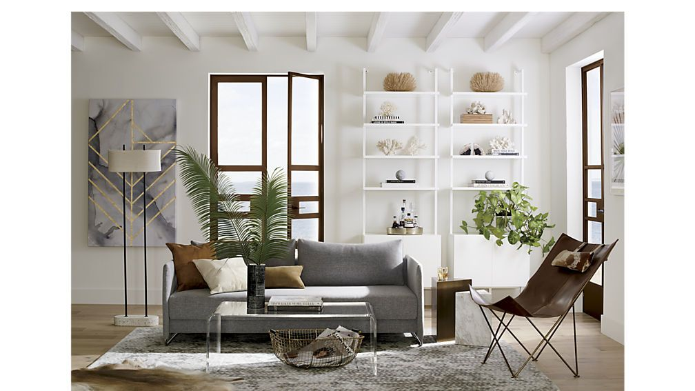 stairway white 96 wall mounted bookcase living room on wall mount bookshelf id=67806