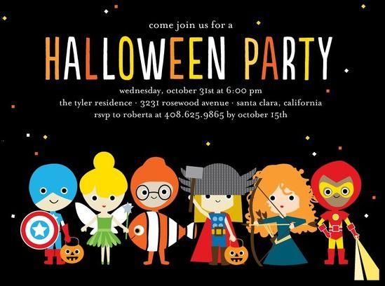 halloween invite idea