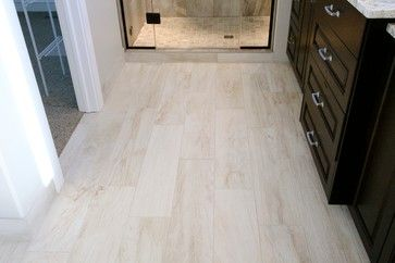 wood grain tiles design ideas- bathroom?   wood grain tile