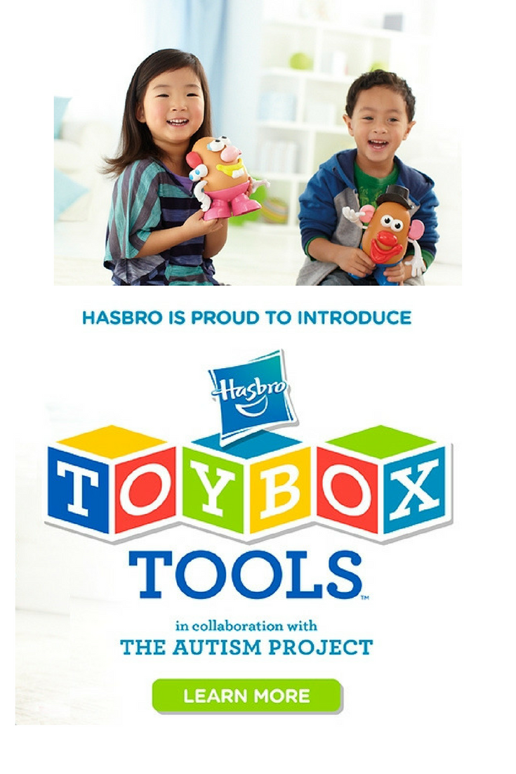 Hasbro TOYBOX Tools Making Play Accessible With The Autism Project Autistic ChildrenParenting BlogsLearning