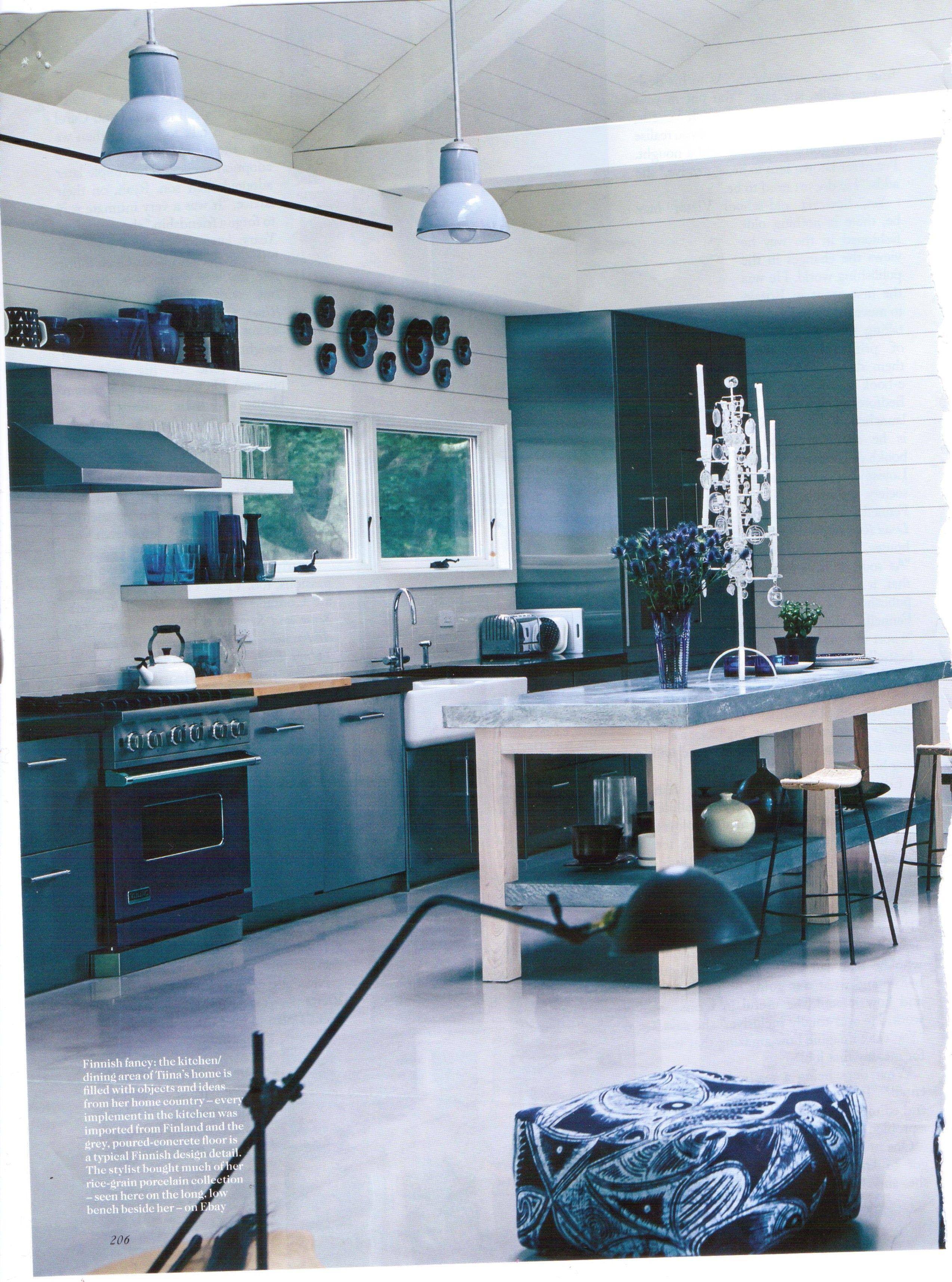 Perfect Kitchen from Tiina Laakkonen\'s Long Island Home - Vogue UK ...