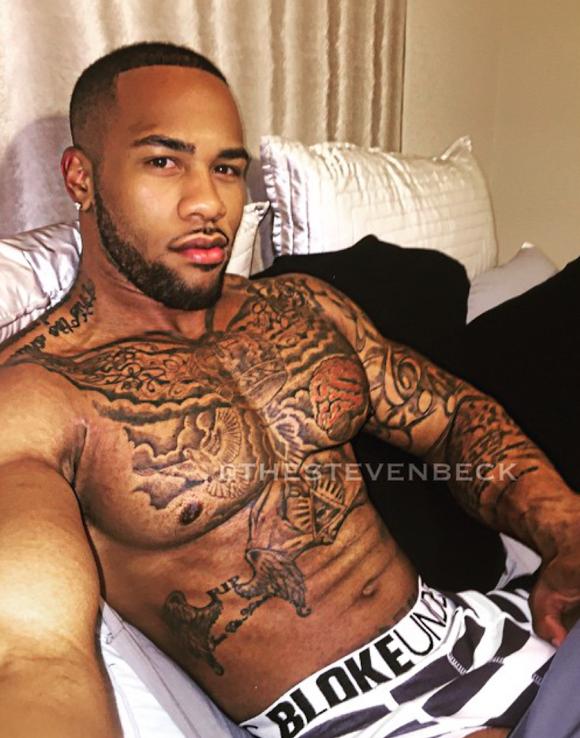 Cute Black Guys With Tattoos Tumblr