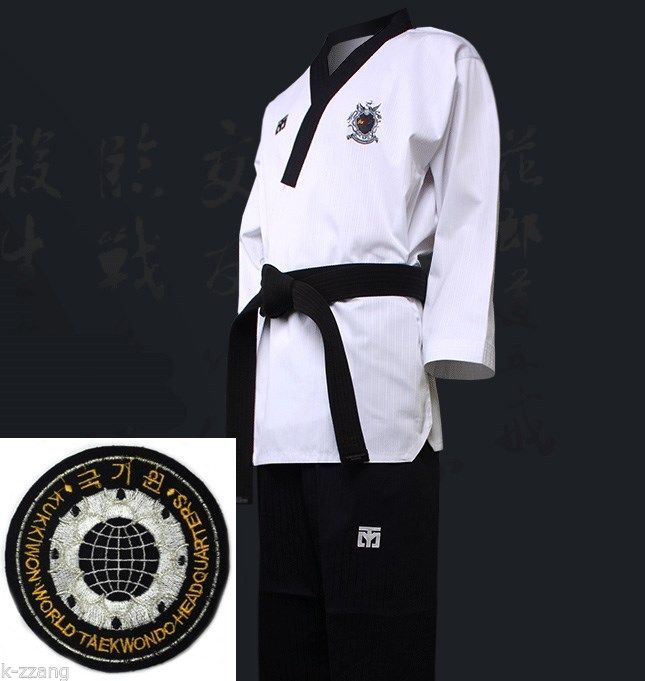 Mooto WTF Poomsae Dan Uniform FEMALE Dobok Korean Taekwondo Tae Kwon Do Uniforms