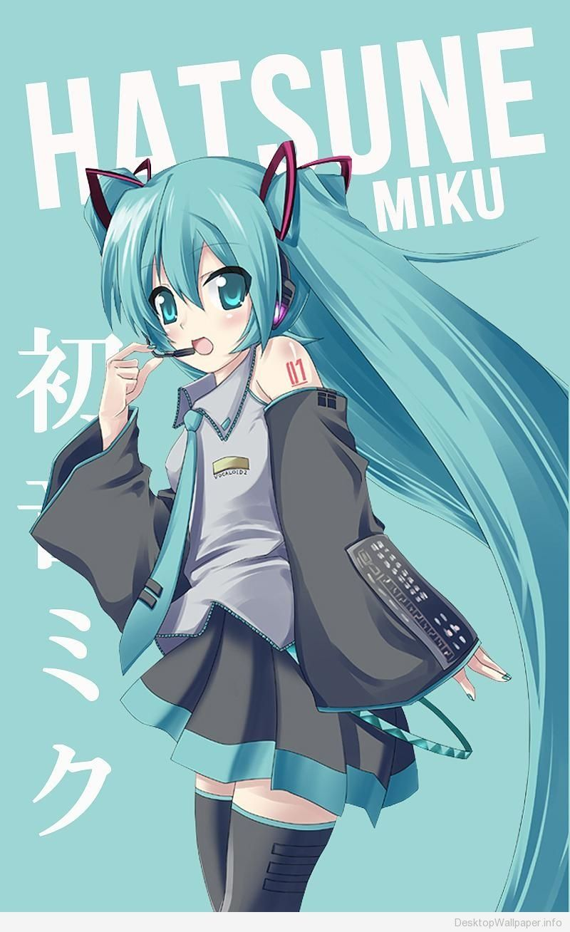 hatsune miku wallpaper for android http