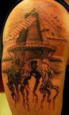 Dutch Tattoo Ideas Google Search Windmill Tattoo Dutch Tattoo Tattoos