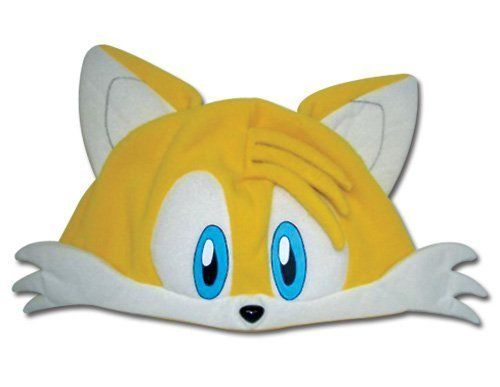 "Sonic the Hedgehog: Classic Tails Fleece Cosplay Cap by Great Eastern Entertainment. $12.55. Super cute cosplay cap of Tails from Sonic the Hedgehog. Stretchable, approx. 8"" in diameter. One size fits most."