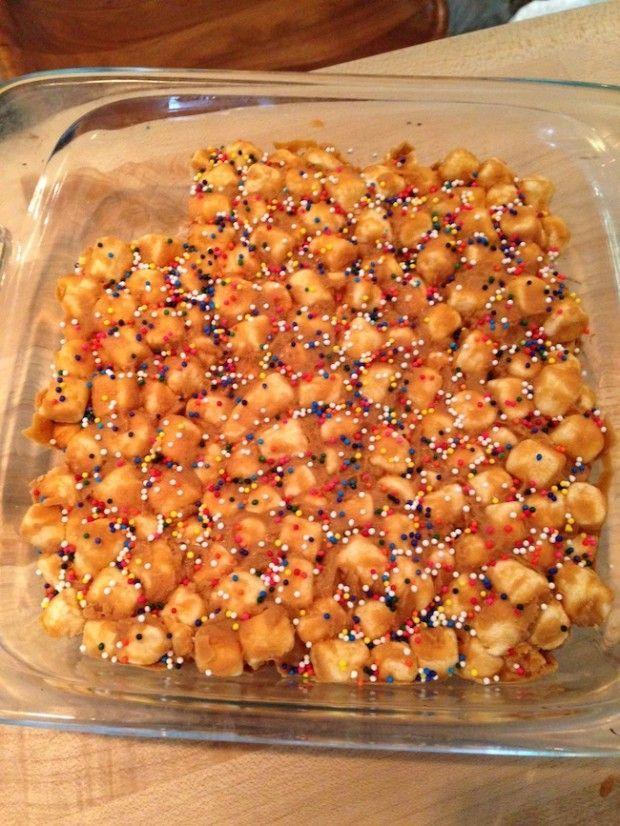 Peanut Butter Marshmallow Confetti Squares -Brad-Goreski- #confettisquares Peanut Butter Marshmallow Confetti Squares -Brad-Goreski- #confettisquares