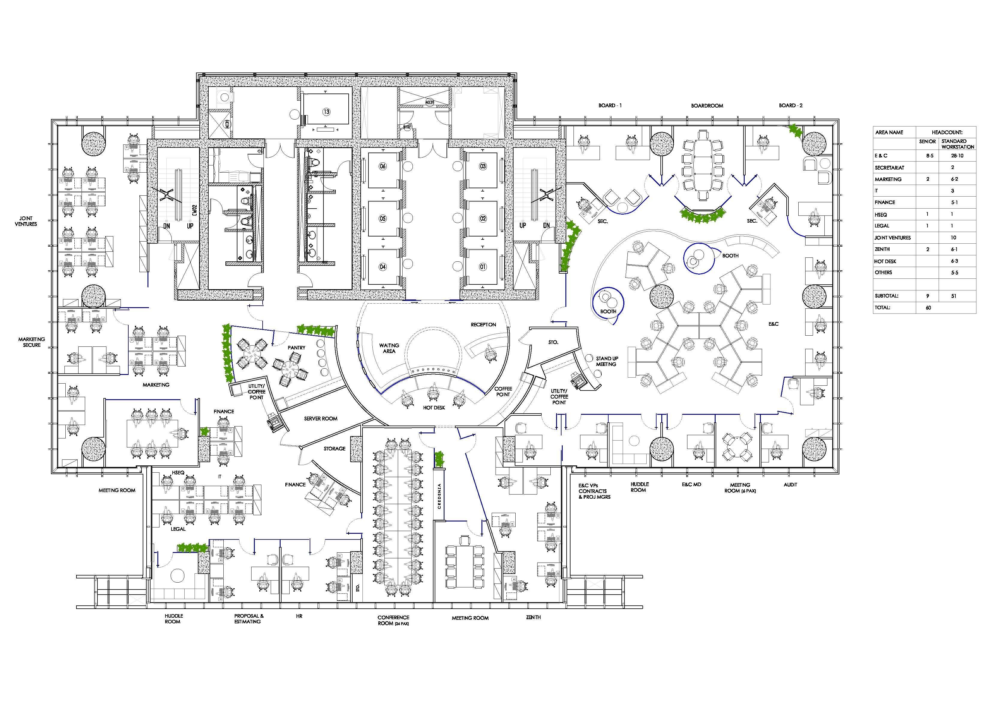 Office Interior Plans