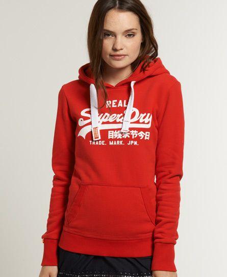 Superdry Vintage Logo Hoodie Hoodies Hoodies Womens Women Hoodies Sweatshirts