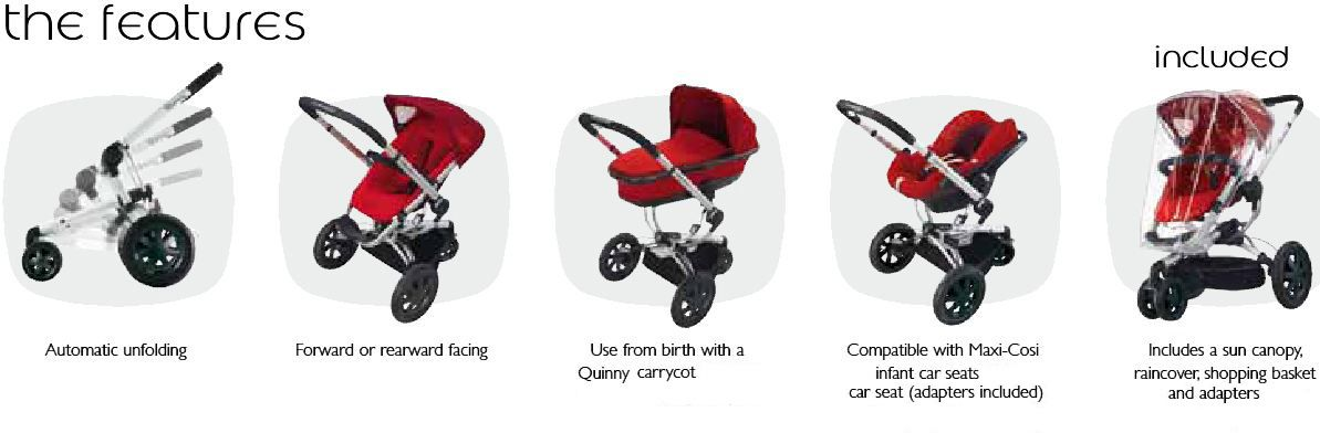 Quinny Buzz 3 Stroller | Baby things, Cots and Car seats
