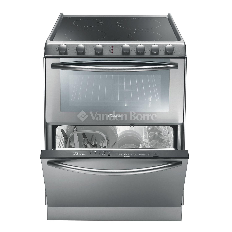 CANDY TRIO IX Taques Four Et Lave Vaisselles Gadget - Cuisiniere electrique four chaleur tournante pour idees de deco de cuisine