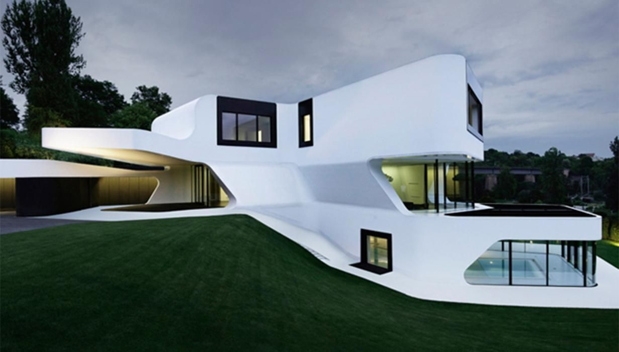 Klein Bottle House Plan Google Search Maison Moderne Plan Architecture Maison Plan Maison Contemporaine
