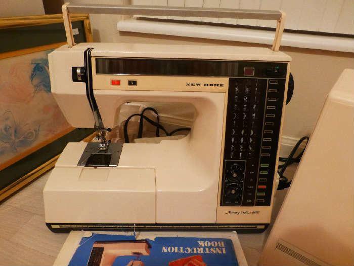 Found on EstateSales.NET: New Home Memory Craft 6000 sewing machine