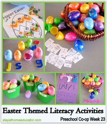 Easter Themed Literacy Activities Kid Blogger Network