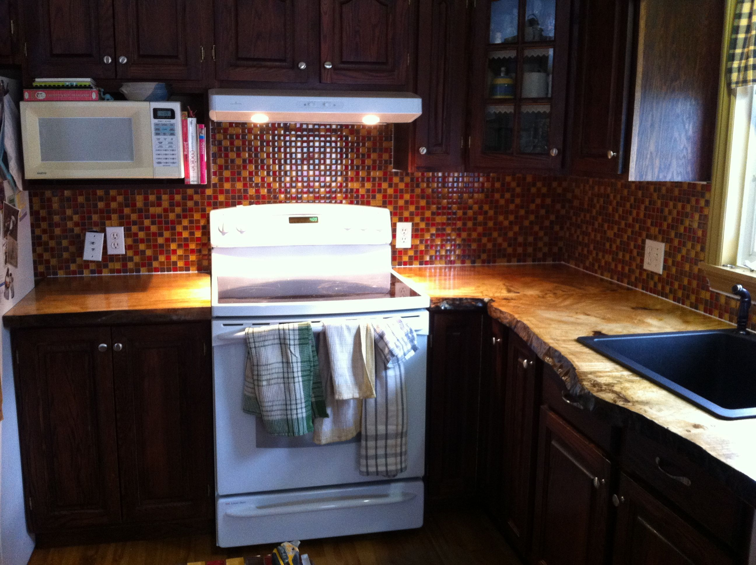 to style kitchen warmth natural countertops countertop wood any bring