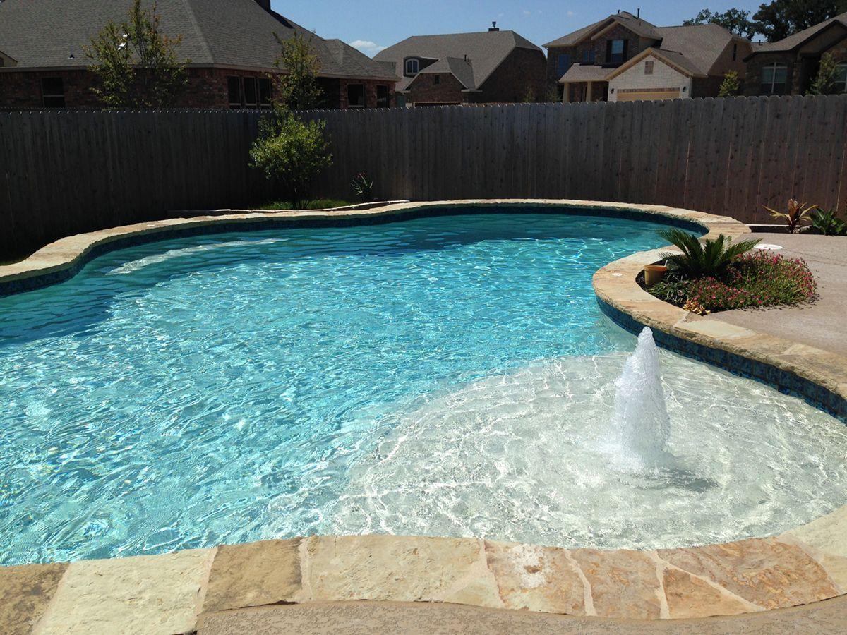 Most Affordable Pools 45k Under Pool Pricing Gallery Backyard Pool Landscaping Pools Backyard Inground Cheap Inground Pool