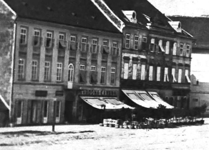 1864 Felbinger House Zagreb Oldtimes Oldpictures 19century Blacknwhite Photography Lobagolabnb Zagreb Croatia Old Pictures
