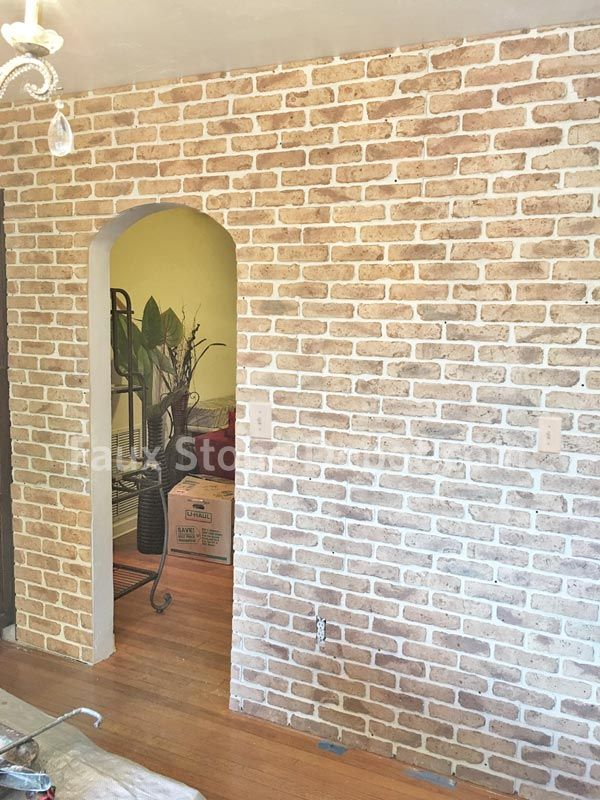This New Tan Faux Brick Panel Looks Amazing Faux Brick Faux Brick Panels Stone Veneer Siding