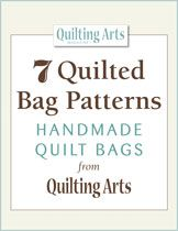 Seven Quilted Bag Patterns:  Handmade Quilt Bags from Quilting Daily - NEW FREE EBOOK — MAKE UNIQUE QUILTED BAGS