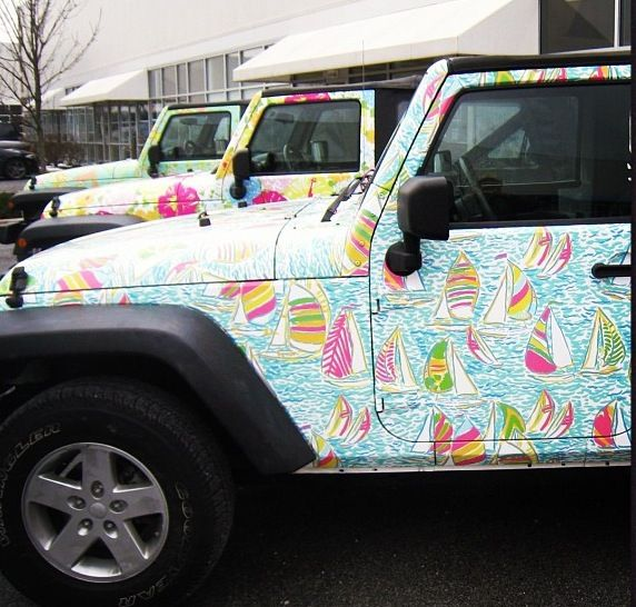 A LILLY JEEP! Is This Real Life??? Found My First Car
