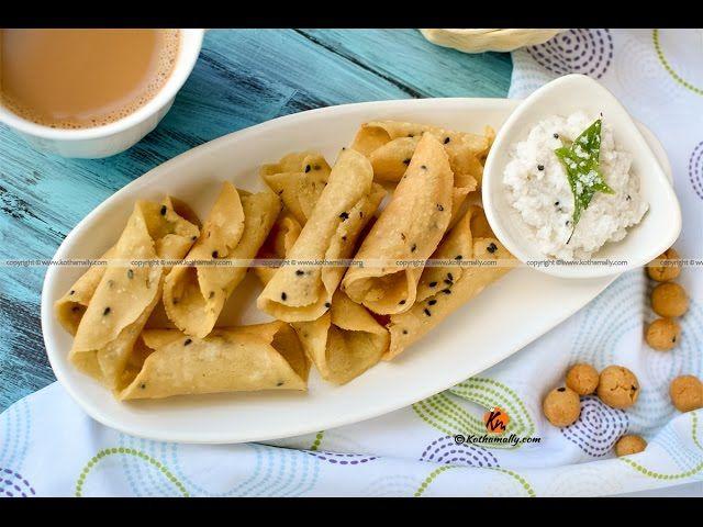 Kuzhalappam, Rice Flour Cannoli | Recipe (With images ...