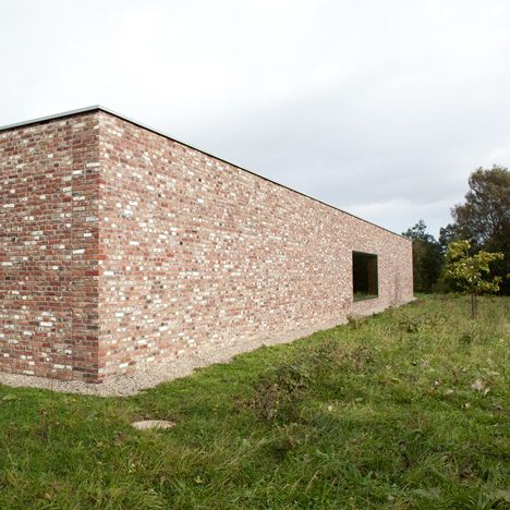 Architecture Museum For The Island Of Hombroich Foundation Germany By Alvaro Siza