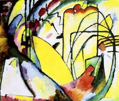 Kandinski. Improvisation 28, 1010