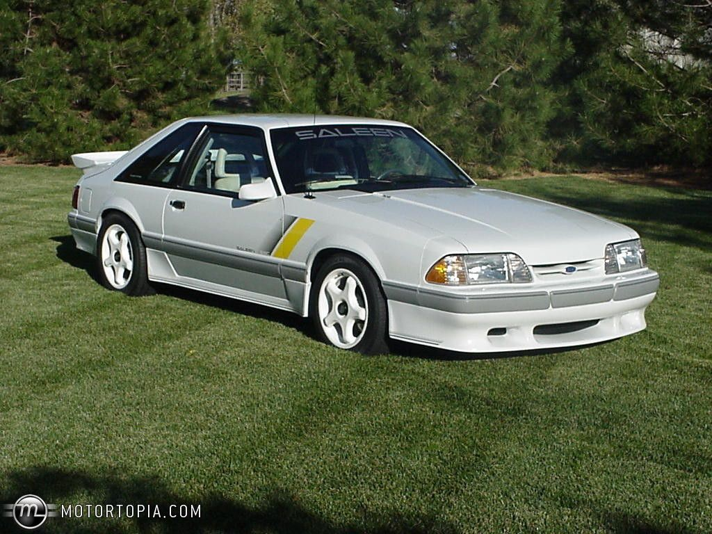 FORD MUSTANG 5.0 LX FOXBODY HATCHBACK with SALEEN BODY KIT… | Flickr