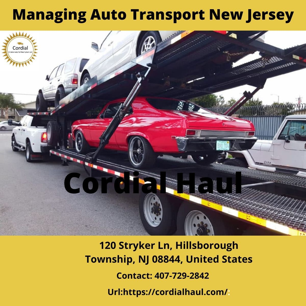 Car Hauling Services near me Wisconsin in 2020 New