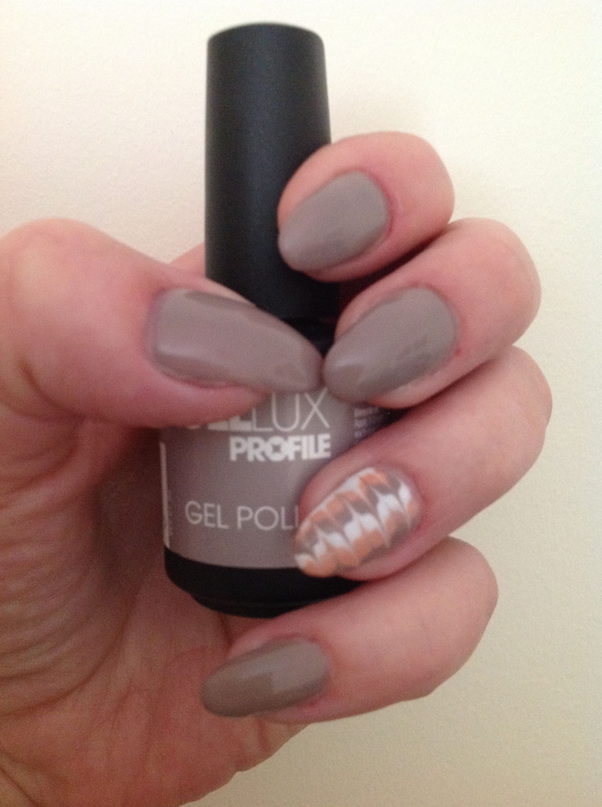 Gellux Blending #gellux #wildmink | Nails | Pinterest | La nails