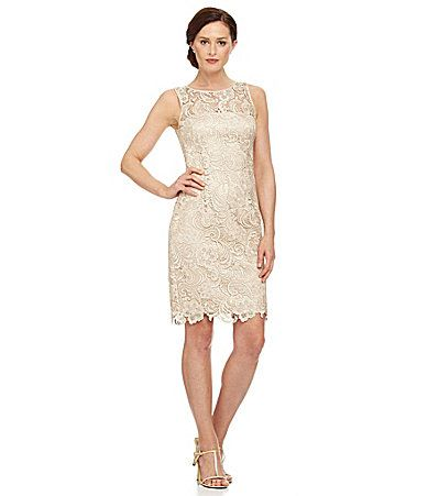 Adrianna Papell Petite Lace Dress   Adrianna papell and Dillards