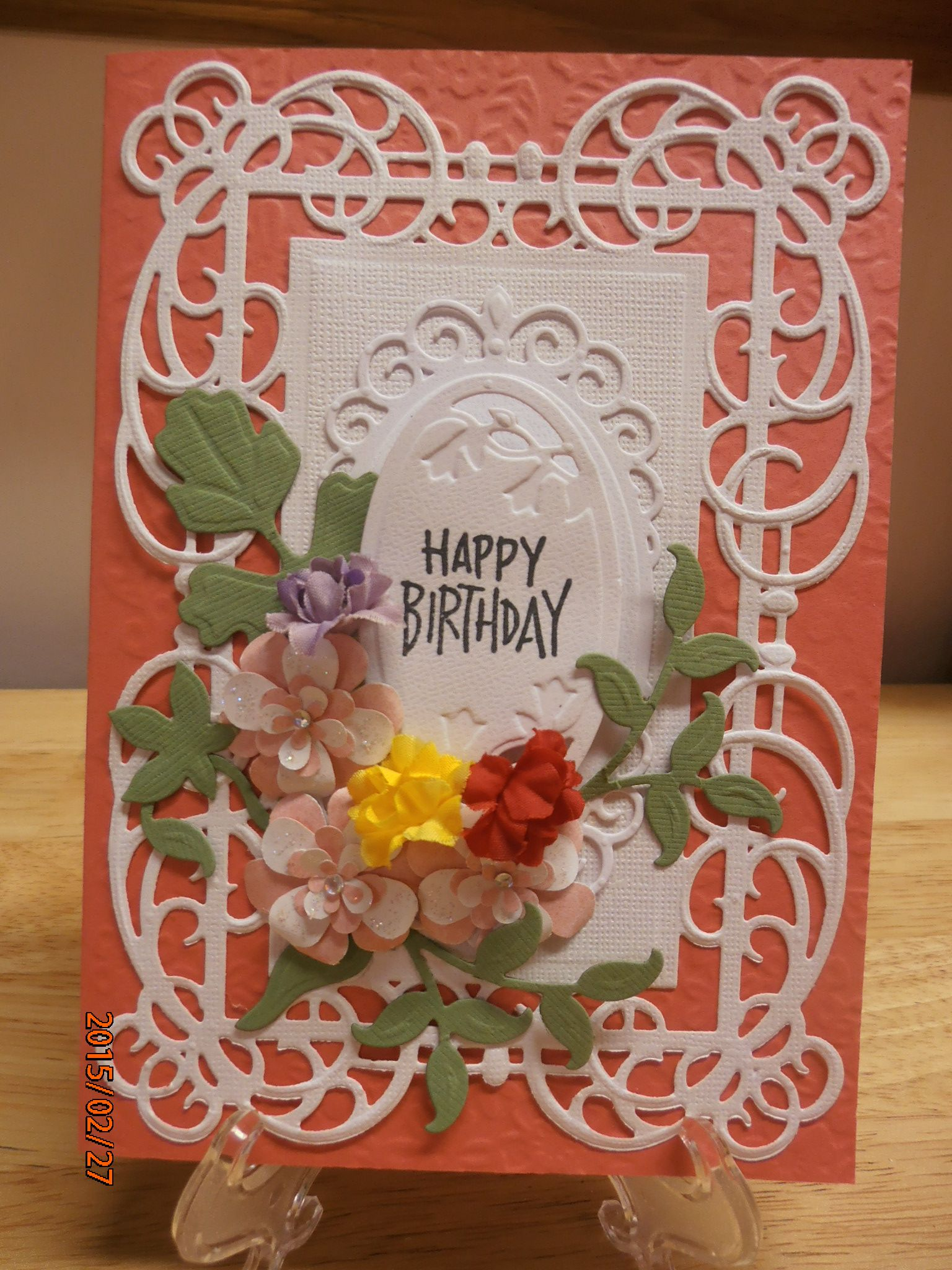 Birthday card handmade by diana b birthday cards pinterest