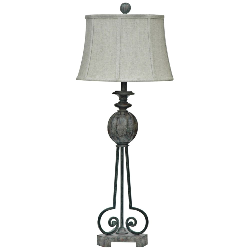 Crestview collection strive antique faux stone table lamp style crestview collection strive antique faux stone table lamp style 8v260 mozeypictures Image collections