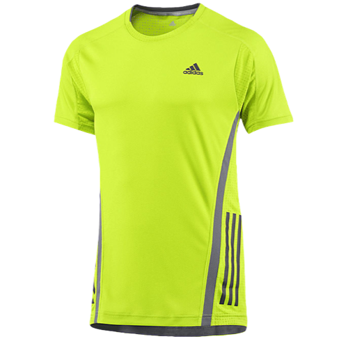 India online shopping sites Men Adidas Climacool Supernova Running T-Shirt  Running Solar Slime/