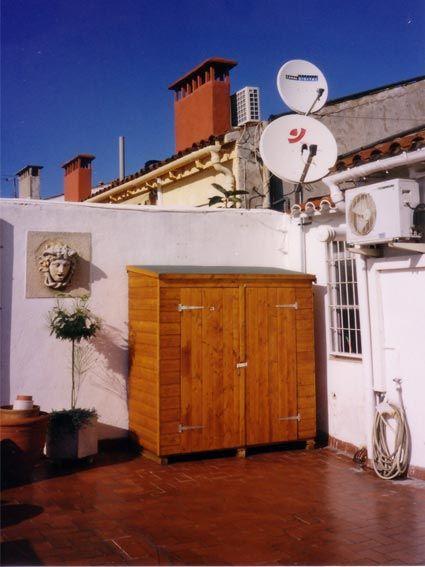 Bodegas para jard n bodegas de jard n casas modulares m dulos - Armario de madera para exterior ...